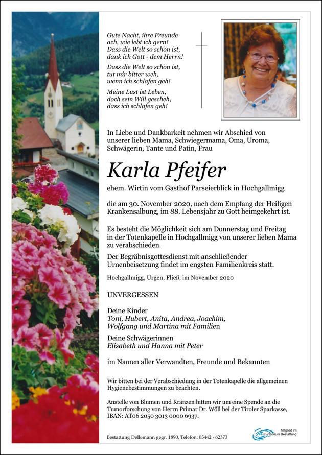 Karla Pfeifer